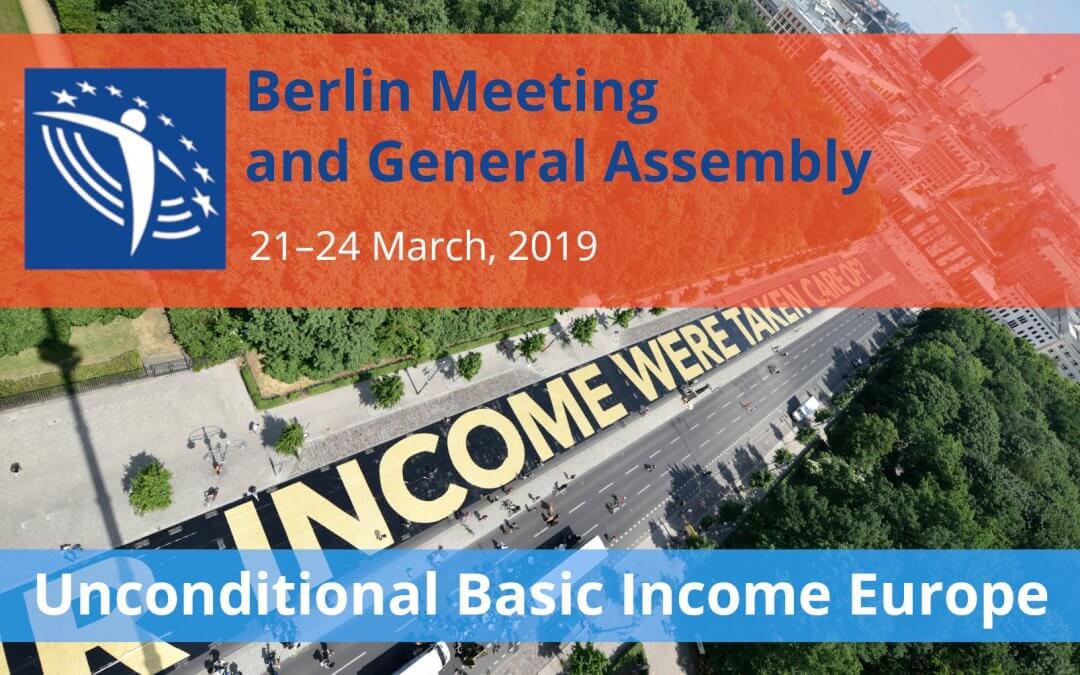 UBIE 2019 Berlin General Assembly (Banner)