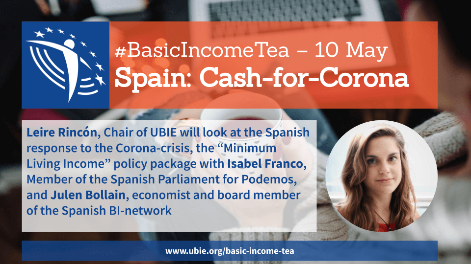 Basic Income Tea, 10 May: Cash-for-Corona in Spain