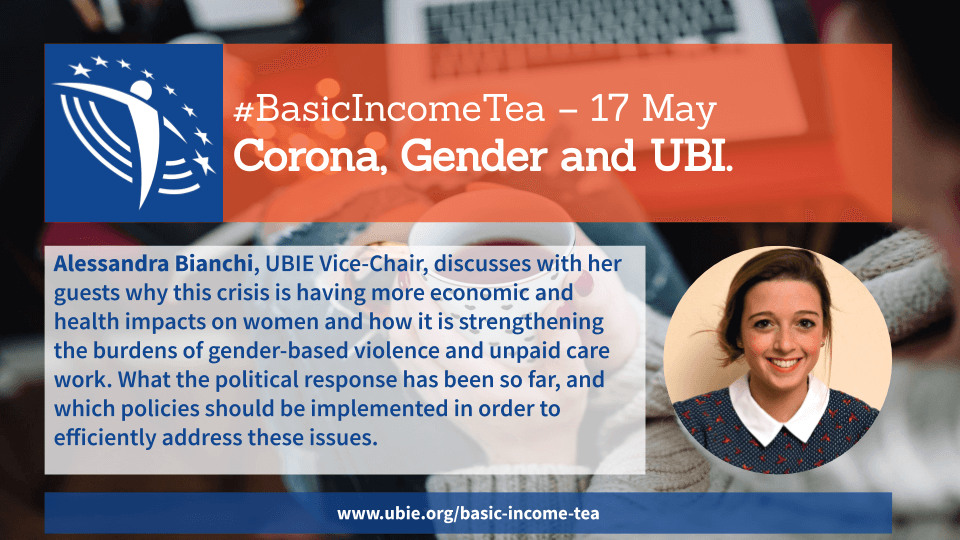 Basic Income Tea, 17 May: Basic Income, Gender Equality and Women's Empowerment