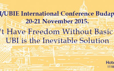 Lectures and debate about Basic Income in Budapest (20-21 November, 2015)