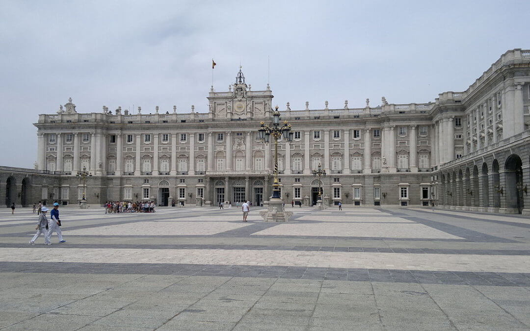 Parliament Building in Madrid, Spain