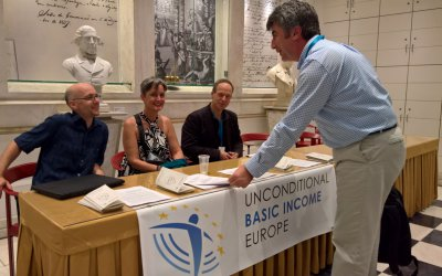 Strengthening cooperation: UBIE at the 2017 BIEN Congress in Lisbon